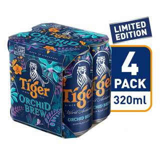 Tiger Can Beer - Orchid Brew