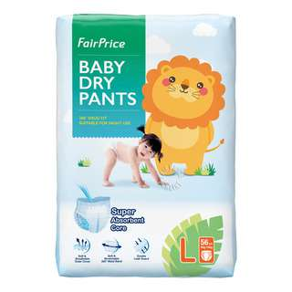 This product is for overnight use. It has a soft & stretchable 360˚ waistband which provides comfortable fit for baby on the move. It has a superb absorbency core which allows fast absorption and quick drying surface. It has a double leak guard to fit baby's leg comfortably and provides protection against side leakage. It has a colour-changing wetness indicator which changes colour when  wet. It also has a soft & breathable outer cover which allows good air-flow through.