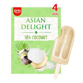 Wall's Asian Delights Ice Cream - Sea Coconut