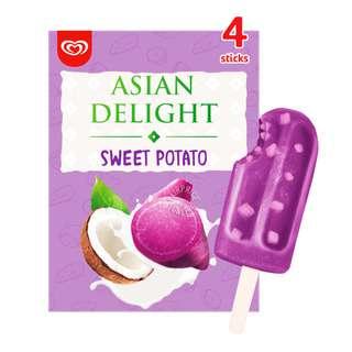 Wall's Asian Delights Ice Cream - Sweet Potato