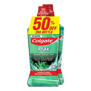 Colgate Plax Mouthwash - Bamboo Charcoal-Mint