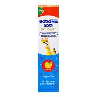 Kodomo Anti-Cavity Children's Toothpaste - Orange