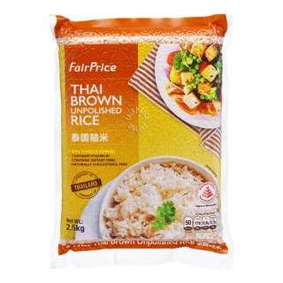 Fairprice Thai Brown Rice - Unpolished