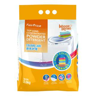 FairPrice Top Load Concentrated Powder Detergent - Colour Care
