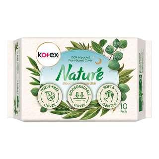 Kotex Nature Night Pads - Super Ultrathin (28cm)