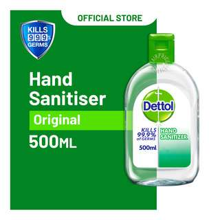 DETTOL HAND SANITISER ORIGINAL 500ML