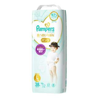 PAMPERS PREMIUM CARE PANTS L 38S