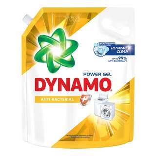 Dynamo Power Gel Laundry Detergent Refill - Anti-Bacterial