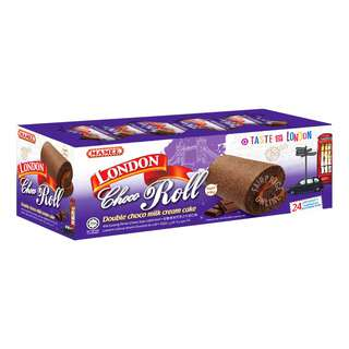 London Roll Cream Cake - Double Choco Milk