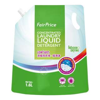FairPrice Concentrated Laundry Liquid Detergent Refill -LowSuds