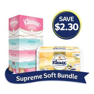 Kleenex Supreme Soft Bundle