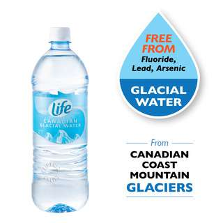 LIFE CANADIAN GLACIAL WATER 1L
