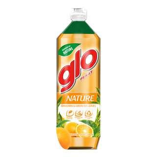 Glo Nature Dishwashing Liquid - Mandarin & Green Tea Leaves