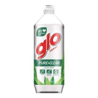 Glo Dishwashing Liquid - Pure & Clear (Aloe Vera)