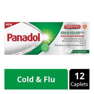 Panadol Cold & Flu Cold Relief Caplets