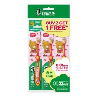Darlie Jolly Junior Kids Toothbrush- Rilakuma(6+years)