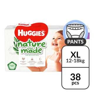 Huggies Platinum Nature Made Pants - XL (12 - 18kg)