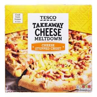 Tesco Cheese Stuffed Crust Pizza