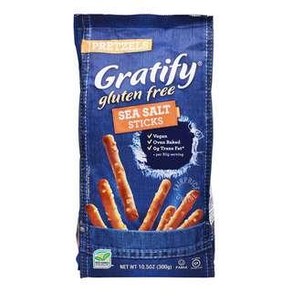 Gratify Pretzels - Sea Salt (Sticks)