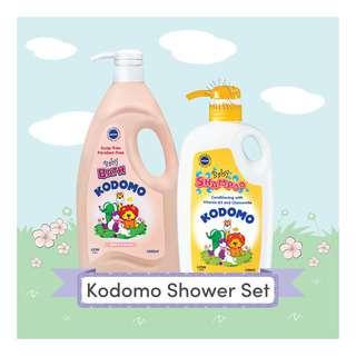 Kodomo Baby Shower Set - Mild & Natural
