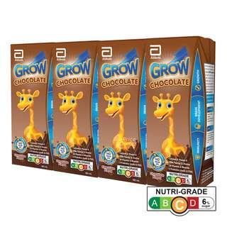 Abbott Grow Ready To Drink Packet Milk - Chocolate