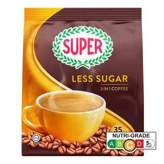 Super 3-In-1 Instant Coffee - Less Sugar
