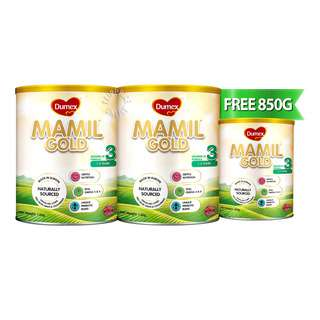 Dumex Mamil Gold Growing Up Milk Formula - Step 3