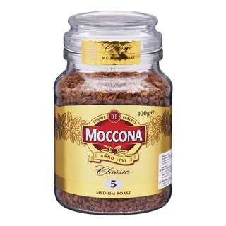 MOCCONA CLASSIC MEDIUM ROAST 100G
