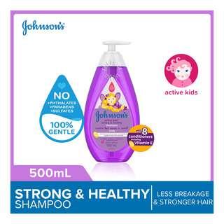 Johnson's Active Kids Shampoo - Strong & Healthy