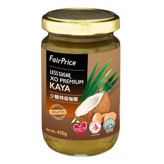 FairPrice XO Premium Kaya (Less Sugar)