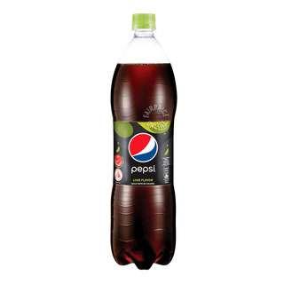 Pepsi Black Bottle Drink - Lime