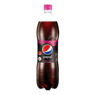 Pepsi Black Bottle Drink - Raspberry