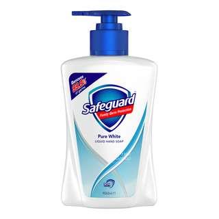 SAFEGUARD LIQUID HAND SOAP BOTTLE-PURE WHITE 225ML