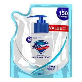 Safeguard Liquid Hand Soap Refill - Pure White