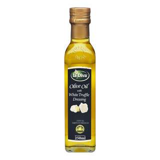 La Diva Olive Oil with White Truffle Dressing