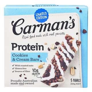 Carman's Protein Bar - Cookies & Cream