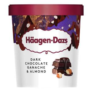 Haagen Dazs Ice Cream - Dark Chocolate Ganache & Almond
