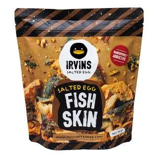 IRVINS SALTED EGG FISH SKIN 105G