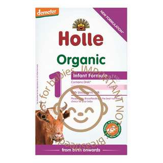 Since 1933, Holle has been manufacturing Demeter and organic infant formulas which meet the highest quality. As the first Demeter manufacturer for infant formulas, Holle follows a holistic approach whose goal is the well-being of mankind and nature alike. Strict compliance with the most stringent policies is continuously verified by independent institutes at the pastures and farms. That is why you can place your absolute trust in Holle to provide the best quality infant formulas for your babies. Holle's strong food science and infant nutrition knowledge further reinforce the passion to promote healthy living from the very beginning.
