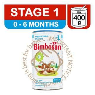 Bimbosan Organic Infant Milk Formula - Stage 1