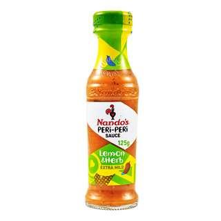 Nando's Peri-Peri Sauce - Lemon & Herb (Extra Mild)