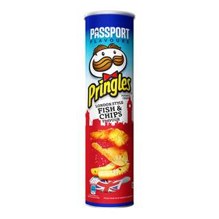 Pringles Potato Chips - London Style Fish & Chips