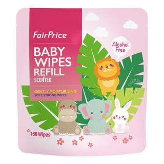 FairPrice Baby Wipes Refill - Scented