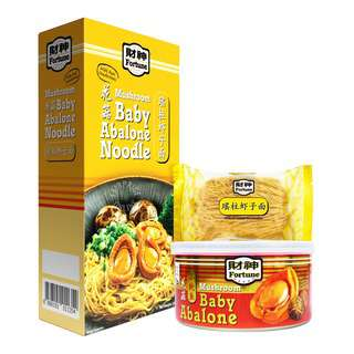 Fortune Baby Abalone Noodle - Mushroom