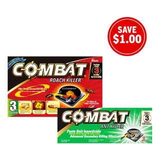 Combat Paste Bait Insecticide Bundle Set