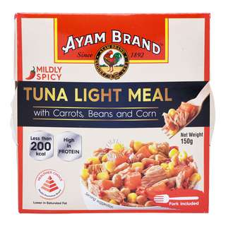 Ayam Brand Tuna Light Meal - Carrots, Beans & Corn (Mildly Spicy)