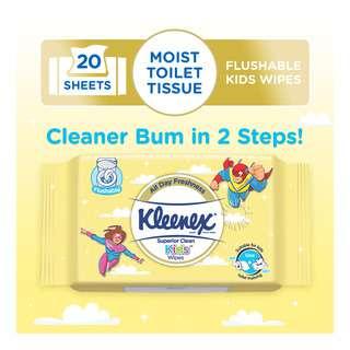 Kleenex Superior Clean Kids Wipes