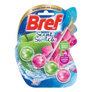 Bref Power Active Toilet Cleaner & Freshener - Scent Switch