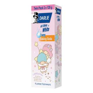 DARLIE ALL SHINY WHITE LITTLE TWINSTAR LIMITED EDITION BAKING SODA 2S 120G