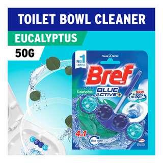 Bref Power Active Toilet Cleaner & Freshener - Blue Active+